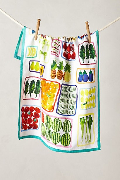 Floating Market Dishtowel