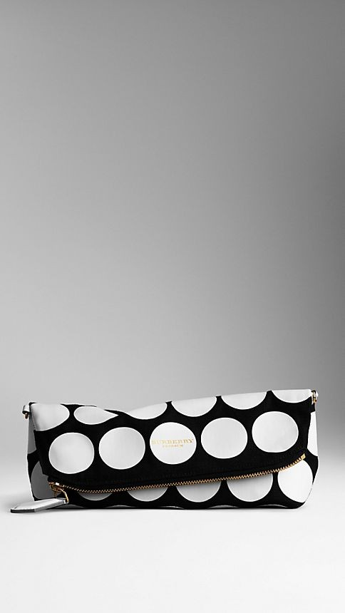 The Petal in Canvas and Leather Dots