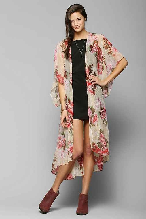 Band Of Gypsies Angel Kimono Duster Jacket