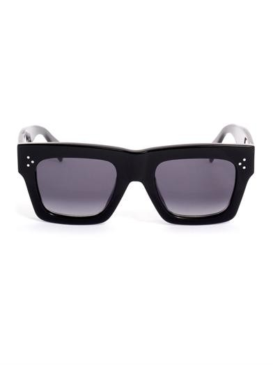 Sqaure acetate sunglasses