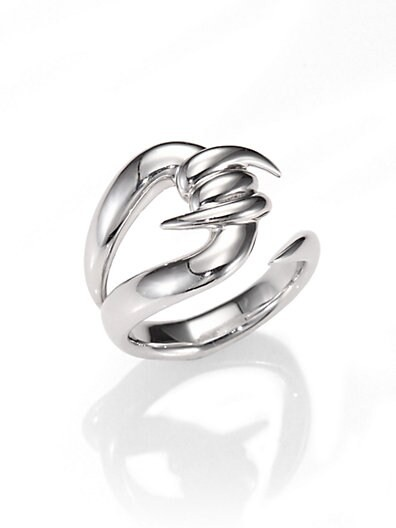 Sterling Silver Barb Ring