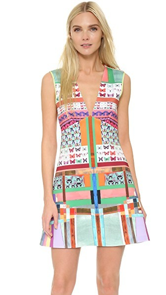 Butterfly Kaleidoscope Dress