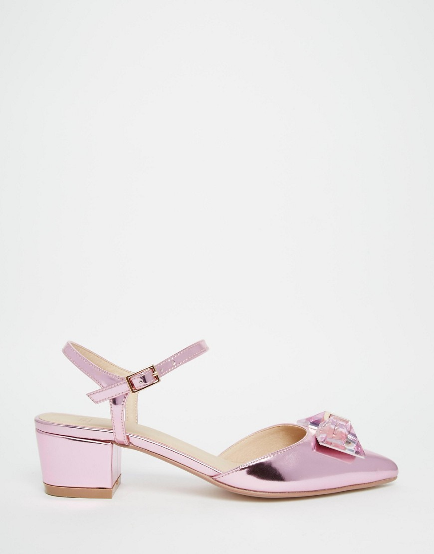 ASOS SAY IT AIN'T SO Bow Pointed Heels