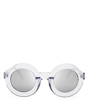 WILDFOX Twiggy Deluxe Mirror Sunglasses