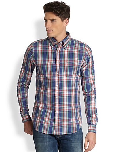 Dreamy Oxford Check Shirt