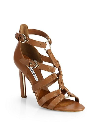 Adrya Leather Bondage Sandals