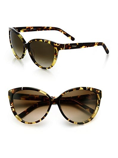 Modified Cat's-Eye Sunglasses