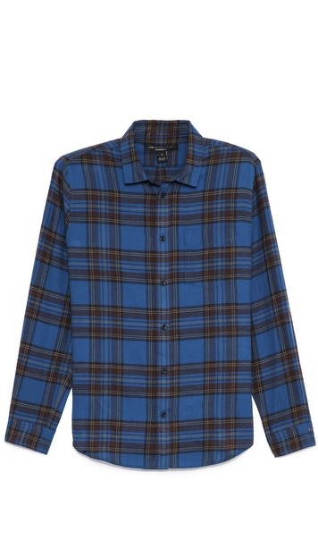 Putney Brushed Plaid Sport Shirt