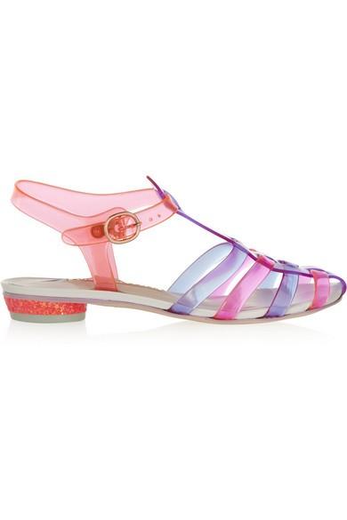 Violeta vinyl sandals