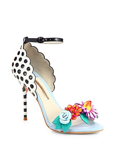 Lilico Leather Flower Sandals