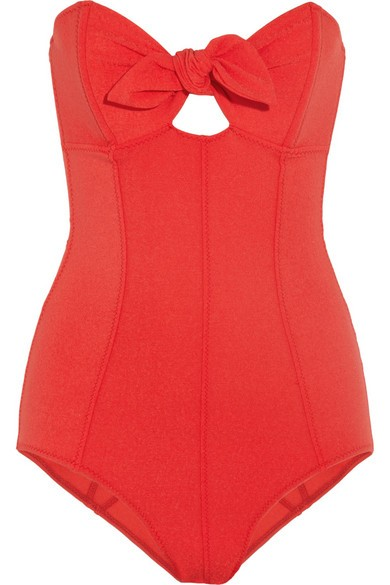 The Poppy bandeau swimsuit