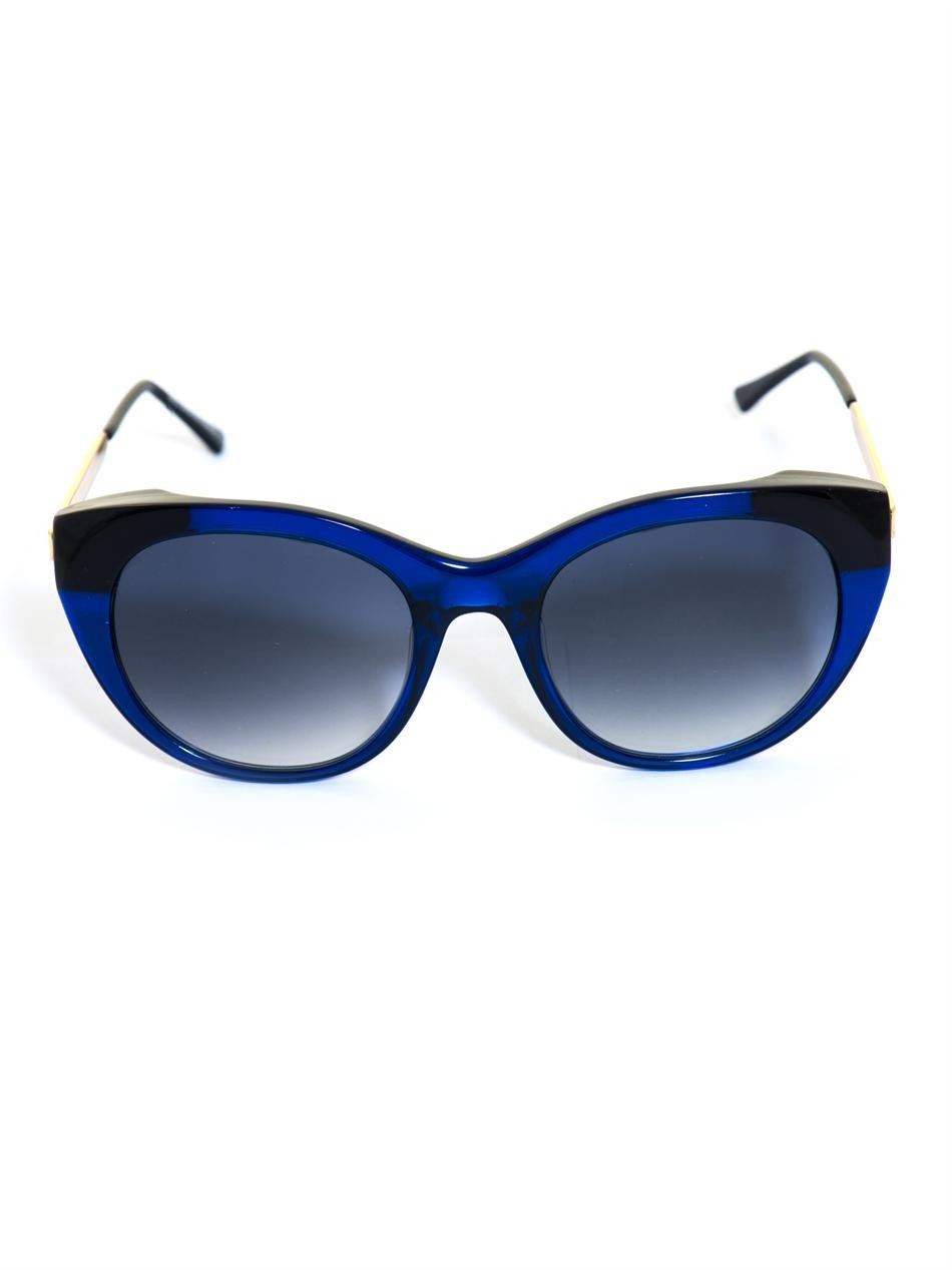 Fingery cat-eye sunglasses