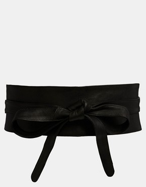 ASOS Leather Obi Waist Belt