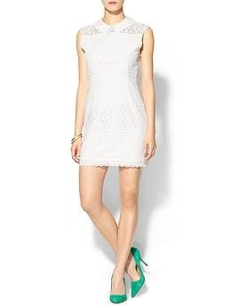 Maratta Mixed Eyelet Dress