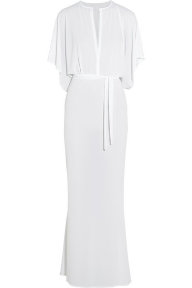 Obie stretch-jersey maxi dress