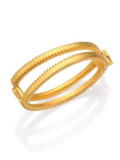 Zip Bangle Bracelet