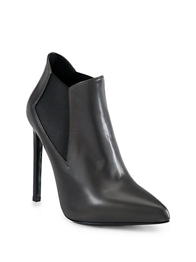 Paris Leather Ankle Boots