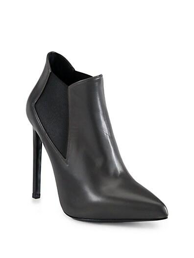Paris Leather Ankle Boots
