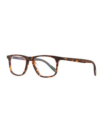 Meier 51 Fashion Glasses, Brown Tortoise - Oliver Peoples
