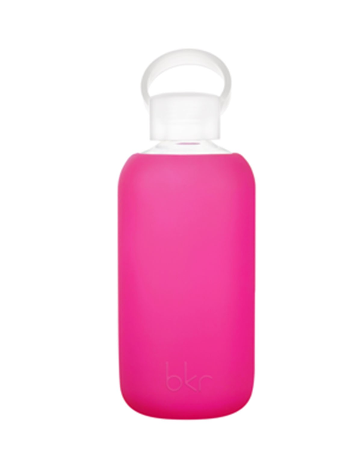 Glass Water Bottle, Front Row, 500 mL - bkr