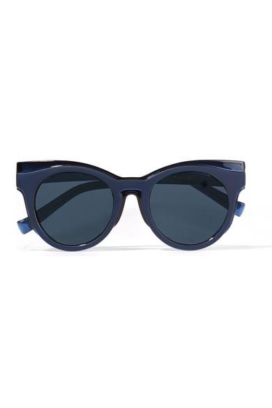 + Le Specs Luxe cat-eye acetate sunglasses+ Le Specs Luxe cat-eye acetate sunglasses