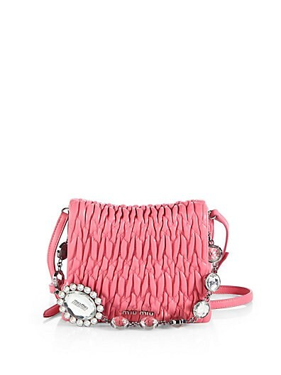 Embellished Square Shoulder Bag