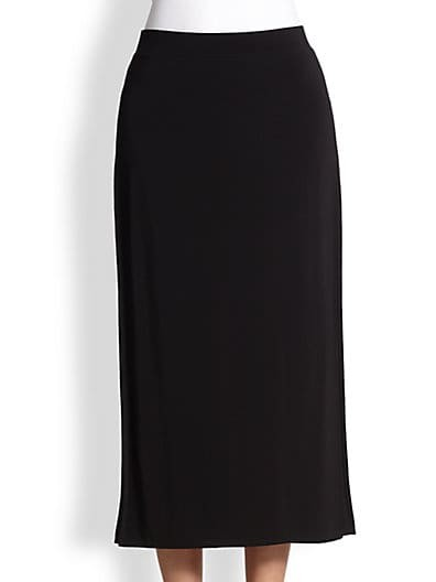 High Slit Faint Skirt