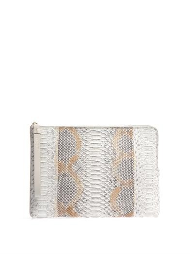 Python large zipped clutch