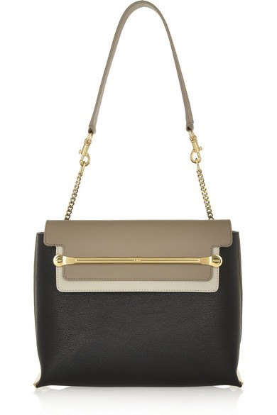 Clare small leather shoulder bag