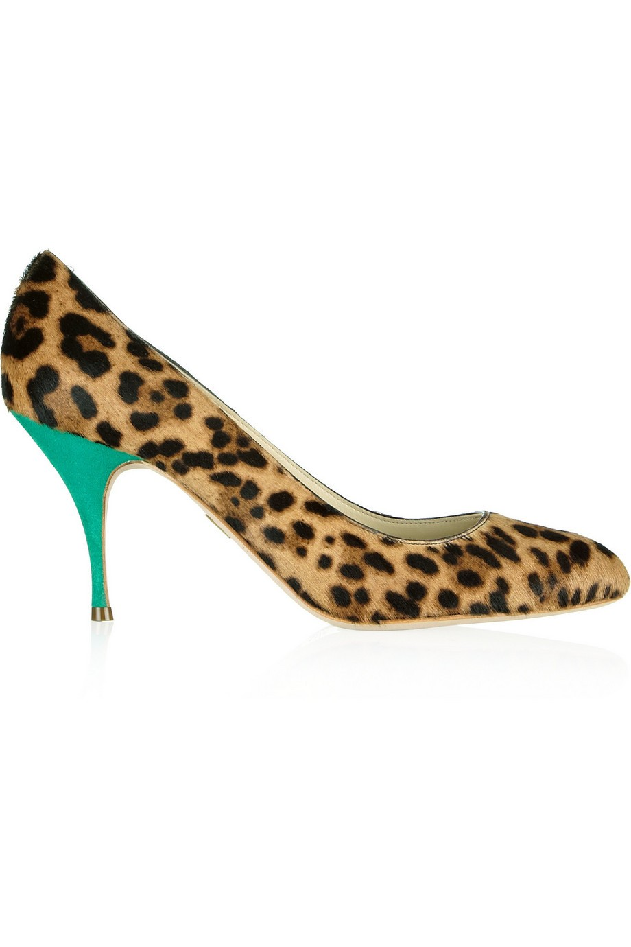 Starlet leopard-print calf hair pumps