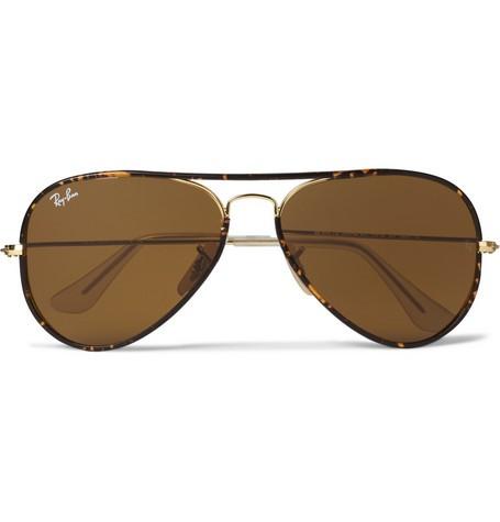 Tortoisehell Aviator Sunglasses