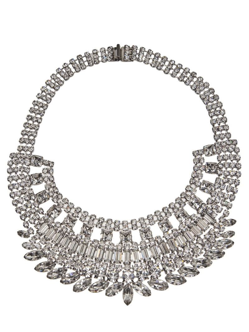 TOM BINNS bib necklace