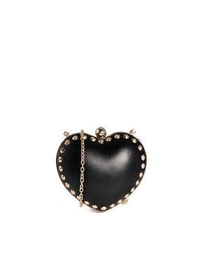 Dune Heart Clutch Bag