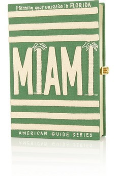 Planning Your Vacation in Florida: Miami embroidered clutch