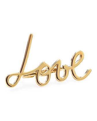 Love Two-Finger Ring - Lanvin