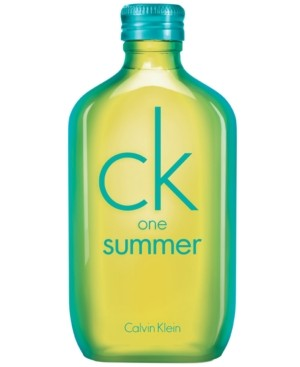 Calvin Klein ck one summer Eau de Toilette, 3.4 oz - Limited Edition