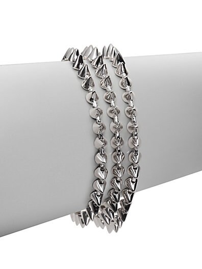 Three-Strand Mini-Cone Bracelet