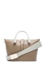 Baylee Shoulder Bag in Pearl Grey
