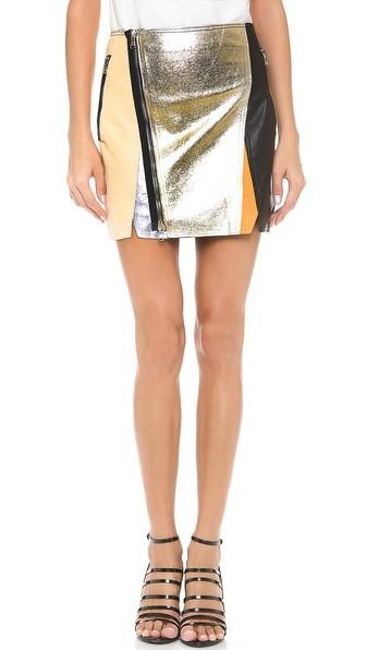 Crossover Biker Skirt