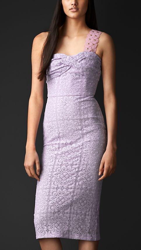 Cotton Lace Bustier Dress