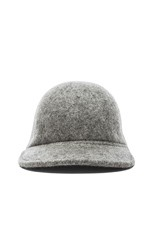 Wool Hat in Grey