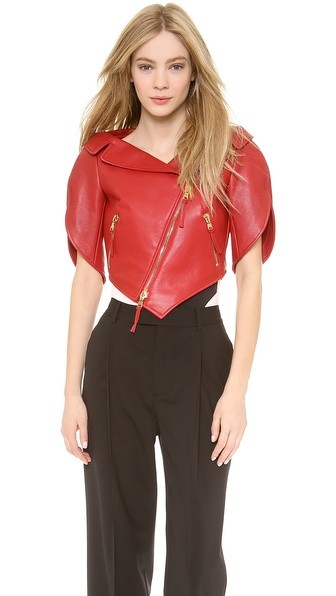 Leather Heart Shaped Jacket