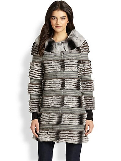 Nikki Fur & Wool Coat