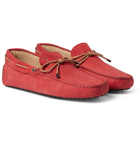 Gommino Nubuck Leather Driving Shoes