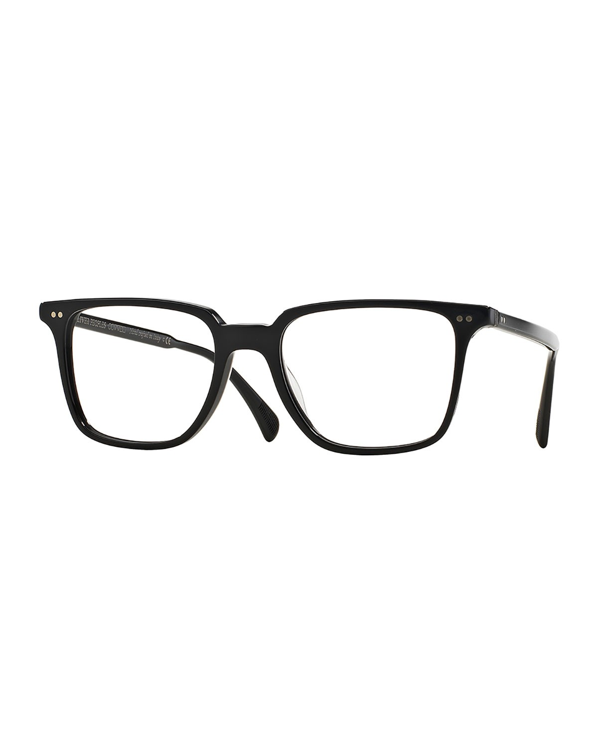 Opll 51 Optical Glasses, Black - Oliver Peoples