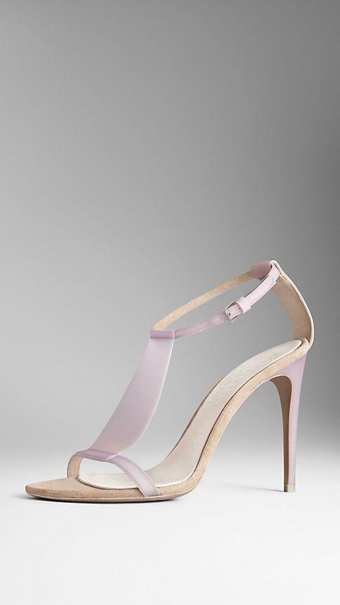 Translucent Vinyl Sandals