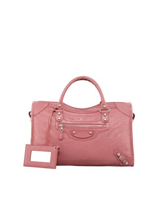 Giant 12 Nickel City Bag, Rose Bombon - Balenciaga