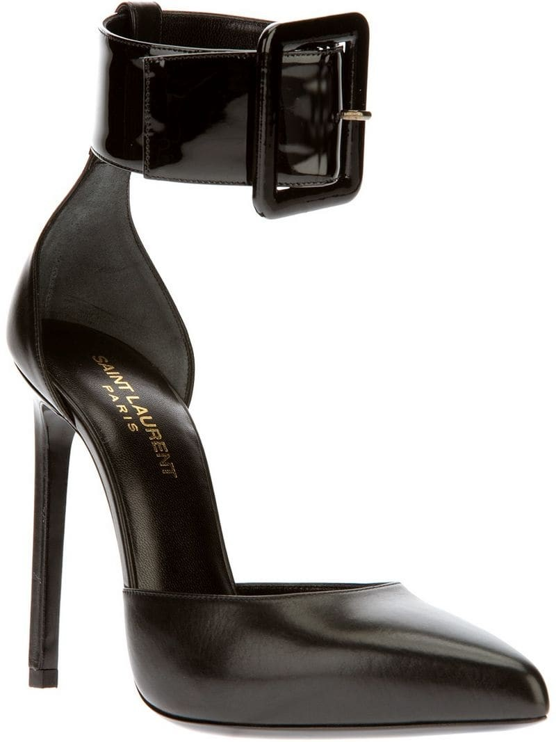SAINT LAURENT buckled sandal