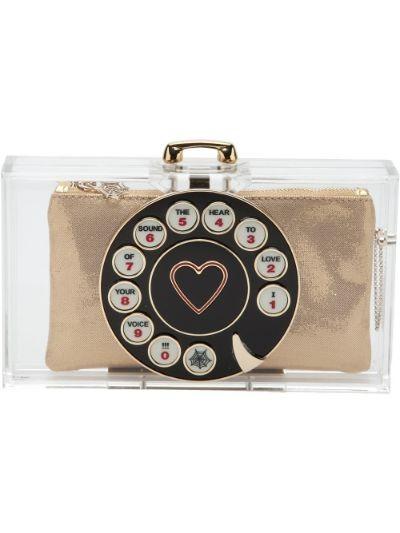 'Dial Pandora' clutch