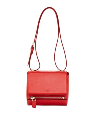 Pandora Mini Box Crossbody Bag, Red